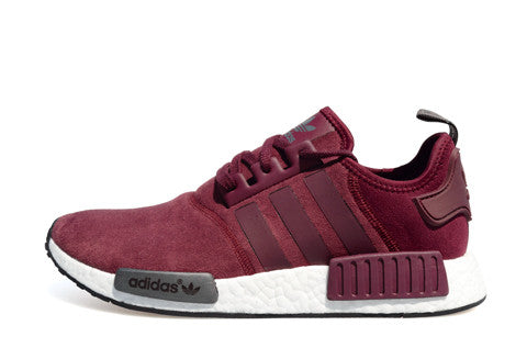 0366e66eb Adidas NMD Burgundy Suede – The Collection Miami