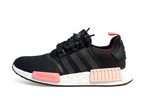 factory price 65143 1a12a Adidas NMD Runner R1W Black Peach – The Collection Miami