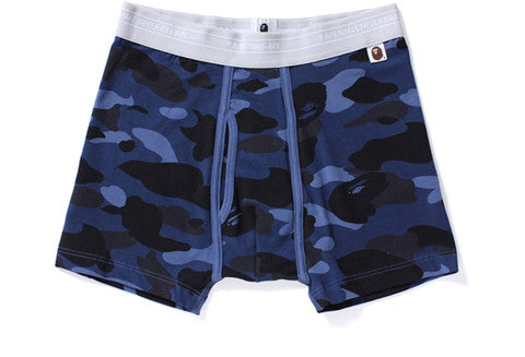 Bape Color Camo Blue Boxer Briefs