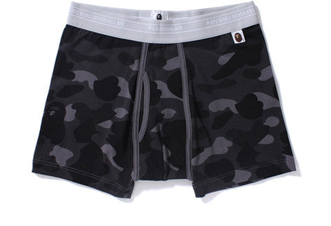 Bape Color Camo Grey Boxer Briefs