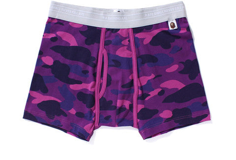 Bape Color Camo Purple Trunks