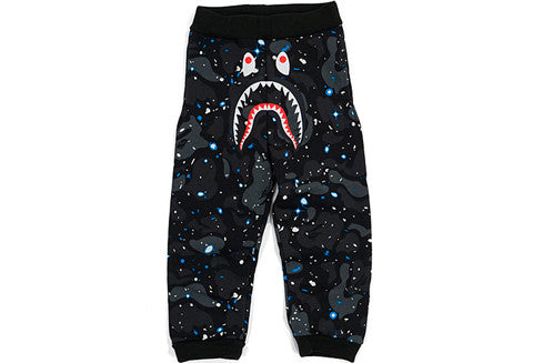 Bape GITD Space Camo Shark Sweatpants