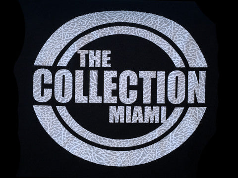 The Collection Miami Black/Cement Tee