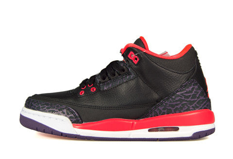Air Jordan 3 GS Bright Crimson