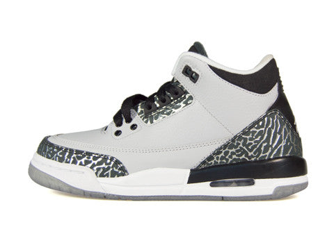 Air Jordan 3 GS Wolf Grey