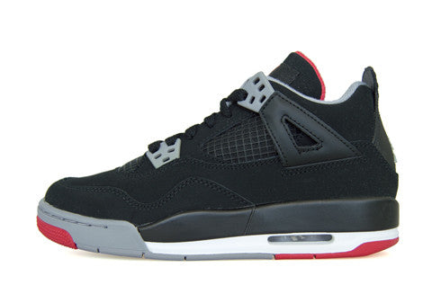 Air Jordan 4 GS Bred