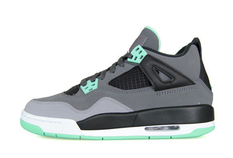 Air Jordan 4 GS Green Glow