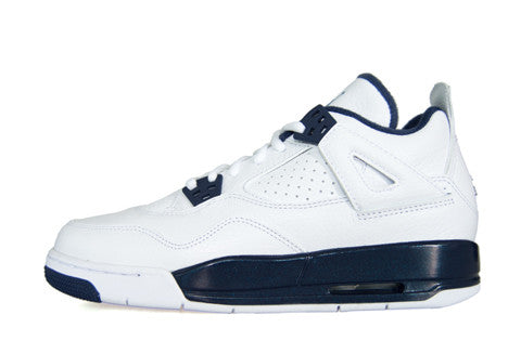 Air Jordan 4 GS Legend Blue - Columbia