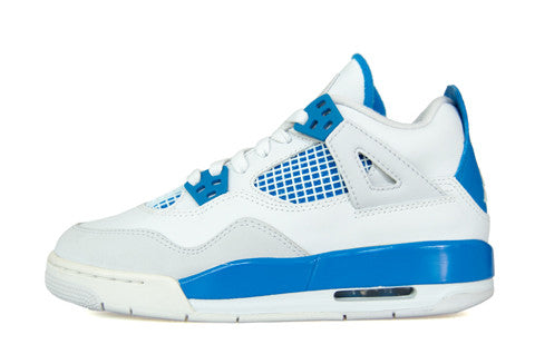 Air Jordan 4 GS Military Blue