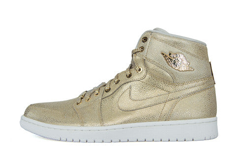 Air Jordan 1 Pinnacle Gold Sample
