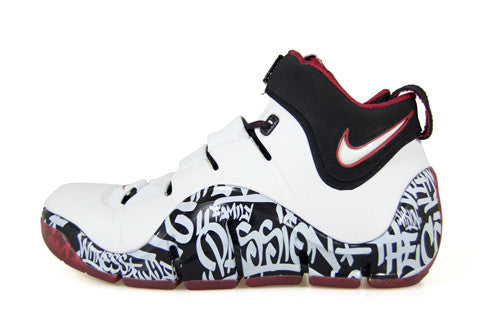 Nike LeBron 4 NYC Graffiti Sample