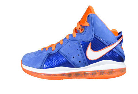 reputable site 0eb77 0573f Nike LeBron 8 HWC Blue Suede