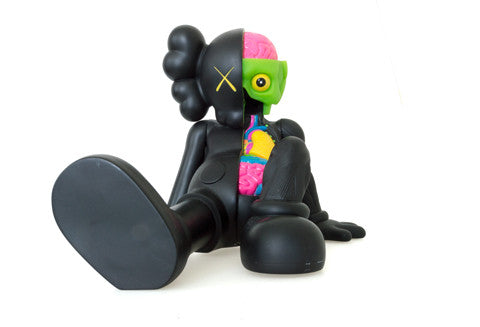 Kaws Resting Place Companion Dissected Black