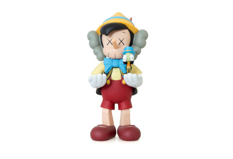 Kaws Companion Pinocchio and Jiminy Cricket