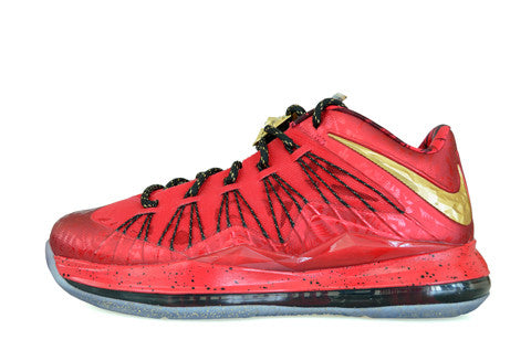 1130d01fc35 Nike LeBron X Low Reverse Champ SAMPLE – The Collection Miami
