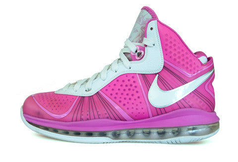 finest selection 50566 23d41 Nike LeBron 8 Think Pink PE – The Collection Miami