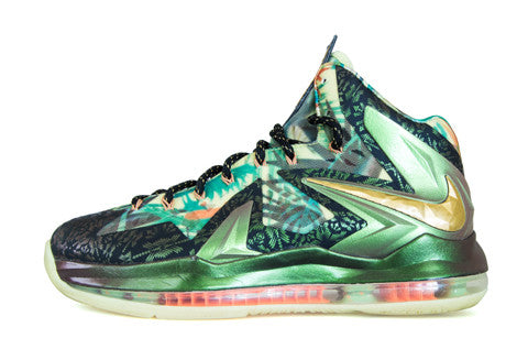 Nike LeBron X Elite Reverse Champ SAMPLE
