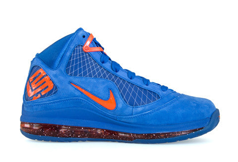 Nike LeBron 7 HWC Blue Suede – The Collection Miami