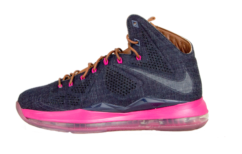 free shipping dd69b aed7d Nike LeBron 10 EXT Denim – The Collection Miami