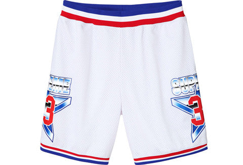 Supreme All Star White Basketball Shorts