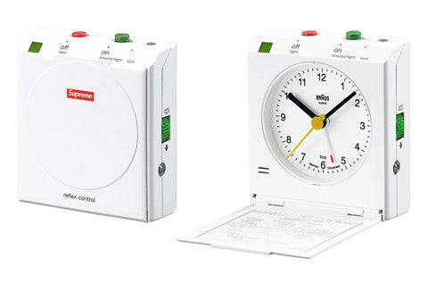 Supreme Braun Travel Alarm Clock