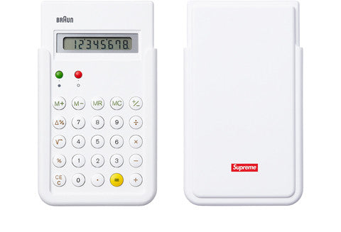 Supreme Braun ET66 Calculator