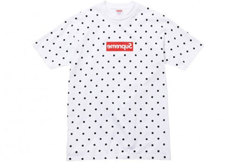 8c19105ee971 Supreme x Comme Des Garcons Polka Dot Tee – The Collection Miami