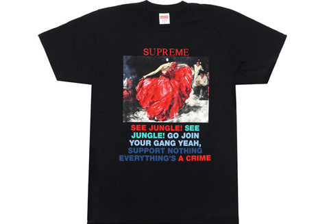 Supreme Dancer Black Tee