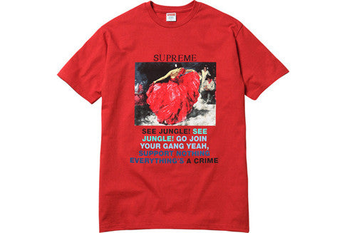 Supreme Dancer Red Tee