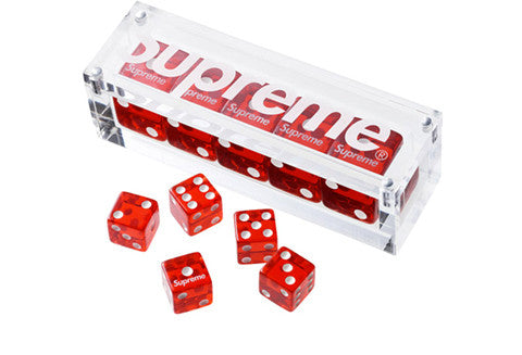 Supreme Red Dice Set