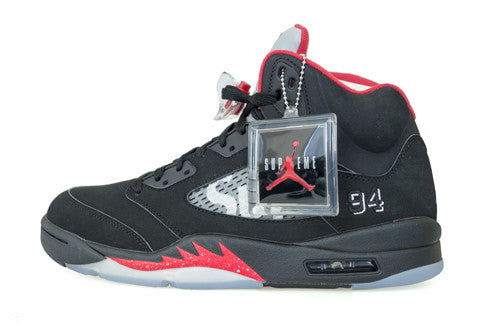 Air Jordan 5 x Supreme Black