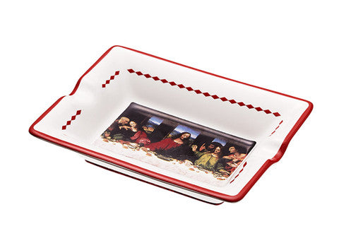 Supreme Last Supper Ashtray Red