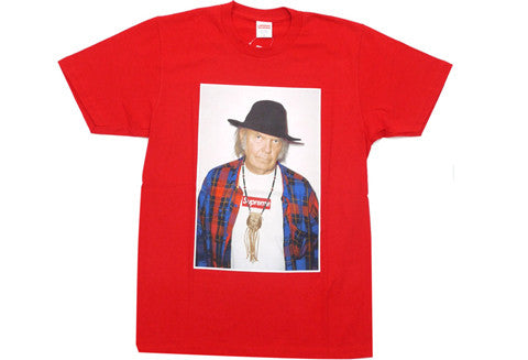 Supreme Neil Young Red Tee