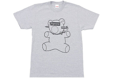 Supreme Under Cover Bear Grey Tee