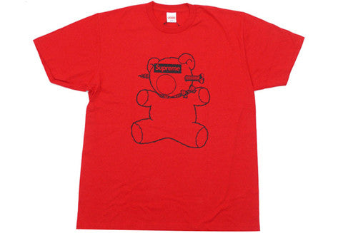 Supreme Under Cover Bear Red Tee