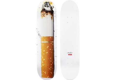 Supreme Urs Fischer Toasted Skateboard Deck