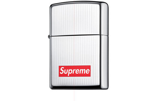 new york a2206 decf9 Supreme Engraved Zippo Lighter – The Collection Miami