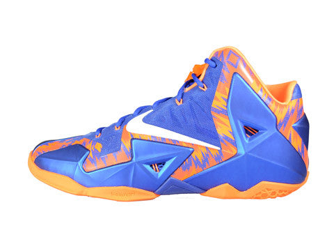 Nike LeBron 11 UF Gators PE Away