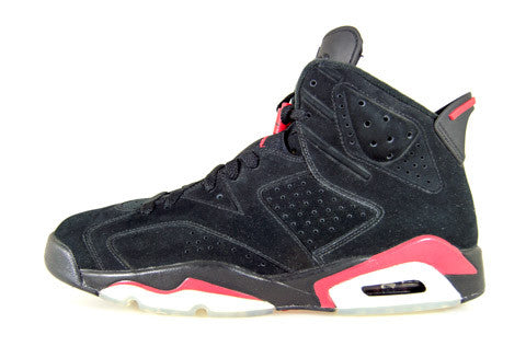 Air Jordan 6 Black Varsity Red