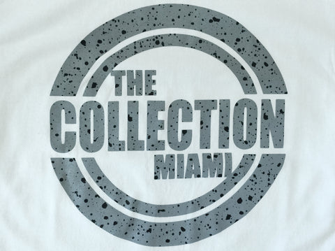 The Collection Miami White/Cement Tee