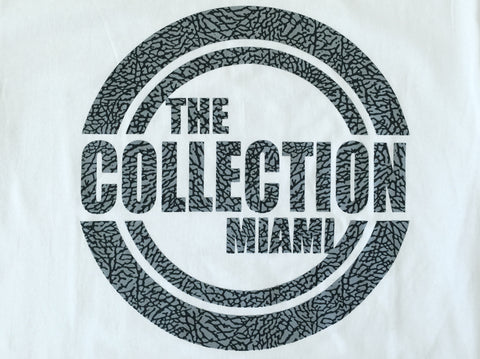 The Collection Miami White/Elephant Tee