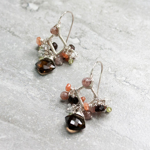 ABBY {cognac} - Boucles d'oreilles|ABBY {cognac} - Earrings