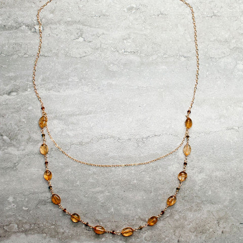 ALEXA {citrine} - Collier|ALEXA {citrine} - Necklace