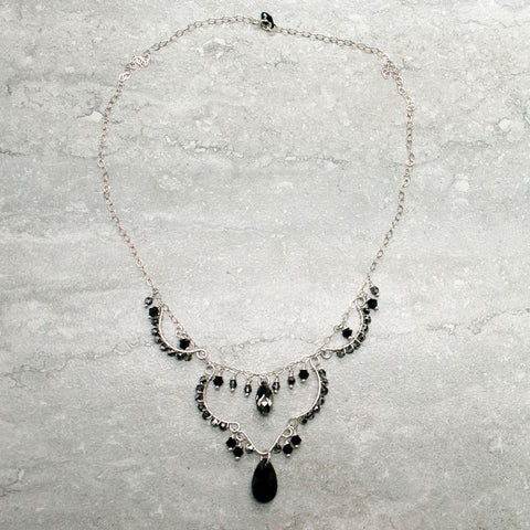 ÉLIZABETH {noir} - Collier|ELIZABETH {black} - Necklace