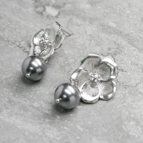 ANNA {argent} - Boucles d'oreilles |ANNA {silver} - Earrings