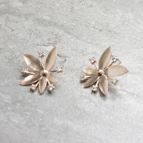 FLORE {or} - Boucles d'oreilles|FLORE {gold} - Earrings