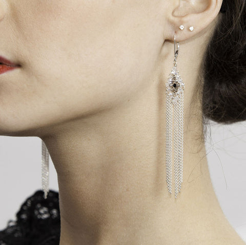 HARLOW {Argent} - Boucles d'oreilles|HARLOW {Silver} - Earrings
