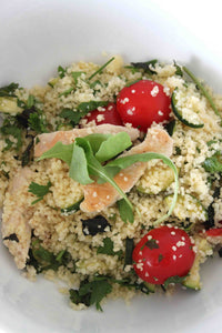 Chicken couscous salad
