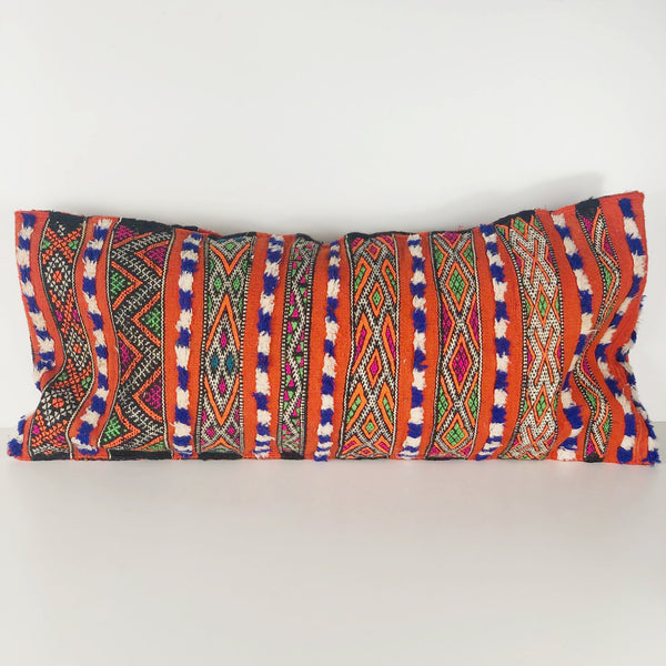 ALEAH vintage kilim pillow cover