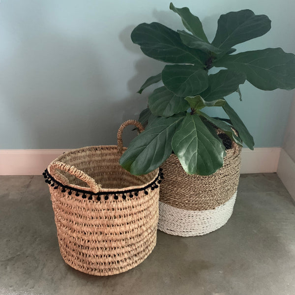 RILEY Moroccan basket